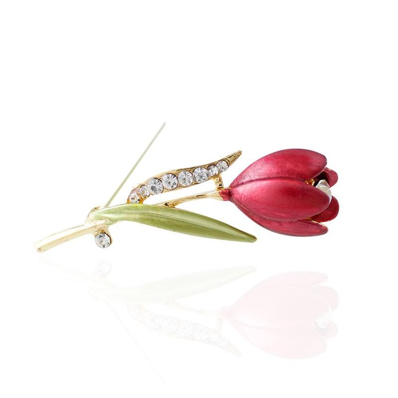 Дамска брошка цвете