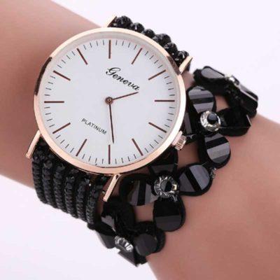 Елегантен дамски часовник - гривна